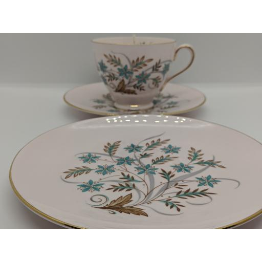 R H & S L Plant Art Deco tea trio c 1955