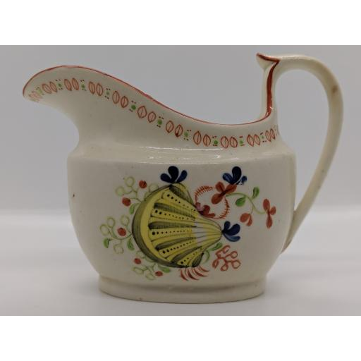 New Hall milk jug c 1800