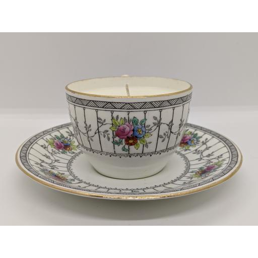 Allertons Edwardian teacup and saucer 1916