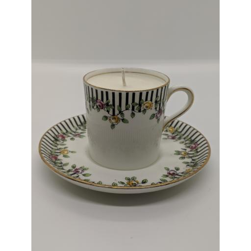 Aynsley coffee can and saucer c 1907