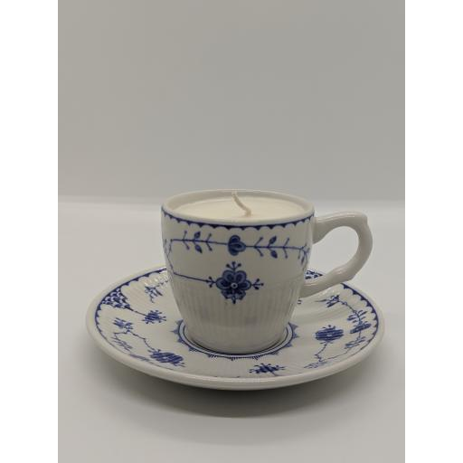 Masons'Denmark' coffee cup and saucer c 1959