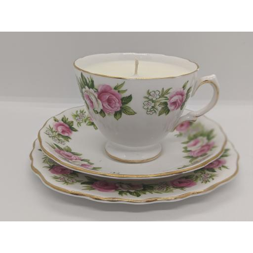Booths and Colclough vintage tea trio c 1950