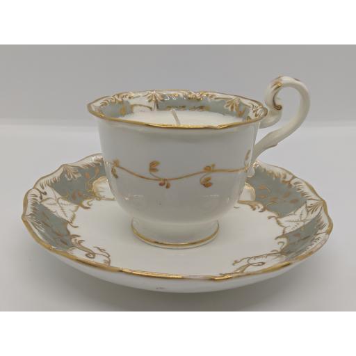 Ridgway coffee/chocolate cup and saucer c 1835