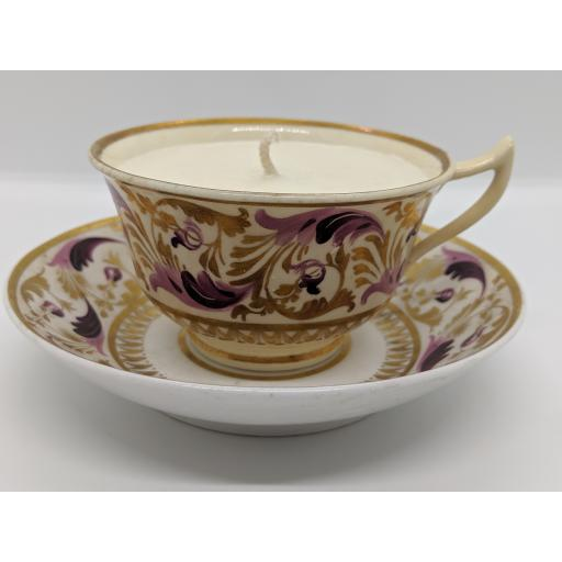 Derby teacup and saucer c 1820