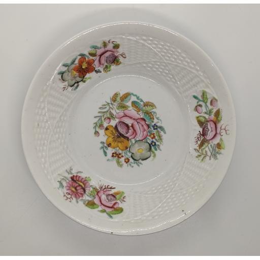 New Hall teacup and saucer c 1810
