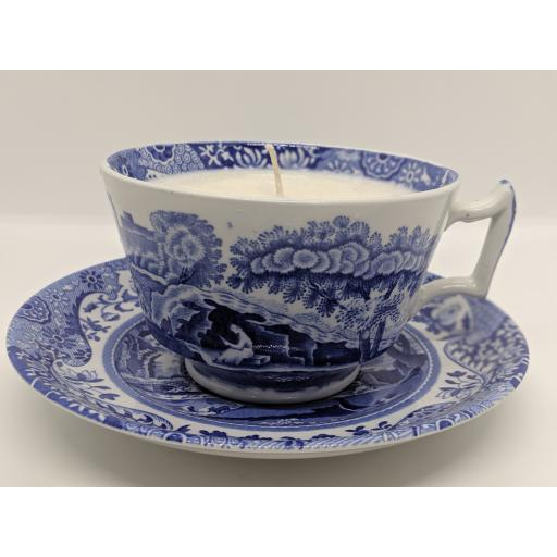 Spode 'Italian' pattern breakfast cup and saucer c 1950