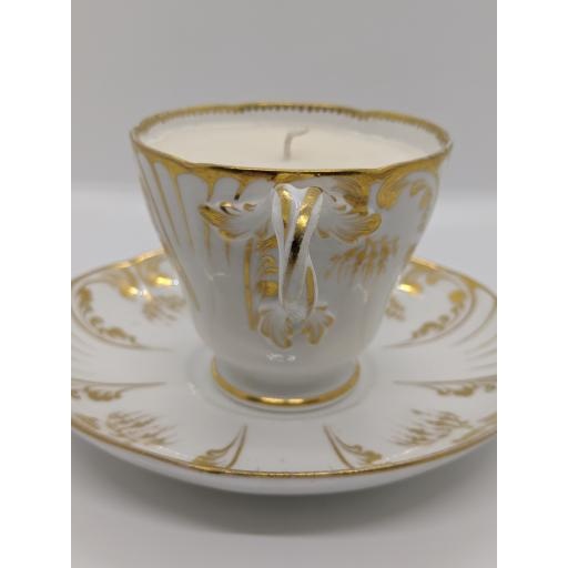 Victorian Adams teacup and saucer c 1845