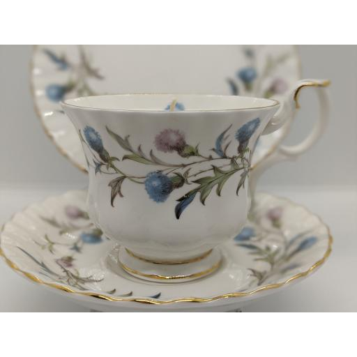 Vintage 'Royal Albert' tea trio c 1950
