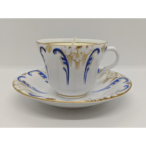 Davenport teacup and saucer c 1840
