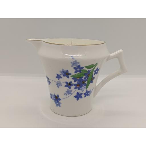 Art Deco milk jug, Colclough c 1930
