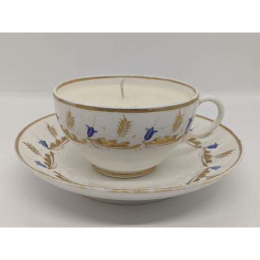 Bloor derby teacup and saucer c 1830