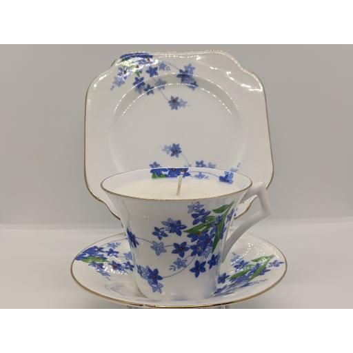 Art Deco Colclough tea trio c 1930