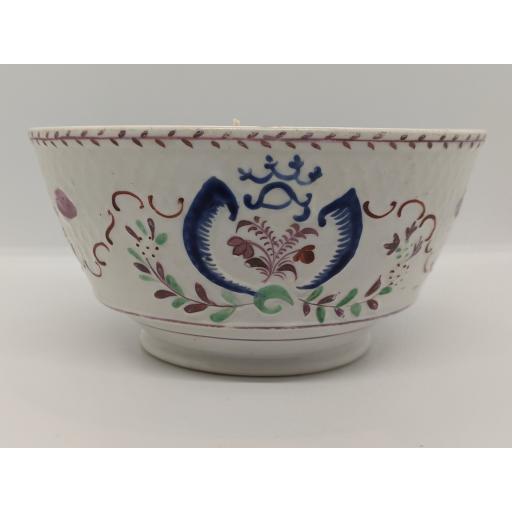Coalport slop bowl c 1810