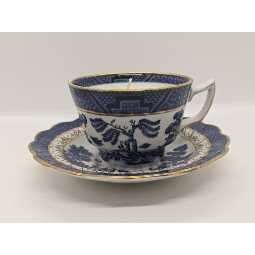 Booth 'Old Willow' teacup and saucer c 1944