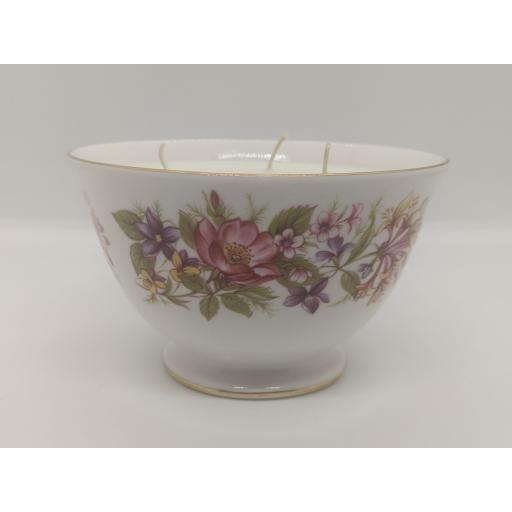 Colclough honeysuckle sugar bowl c 1946