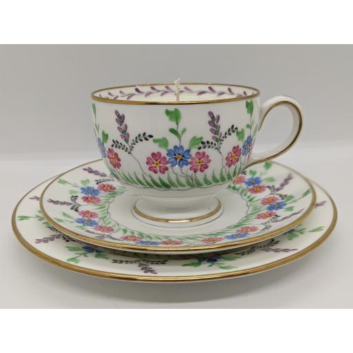 Arts & Crafts tea trio, Wedgwood & Sons c 1915
