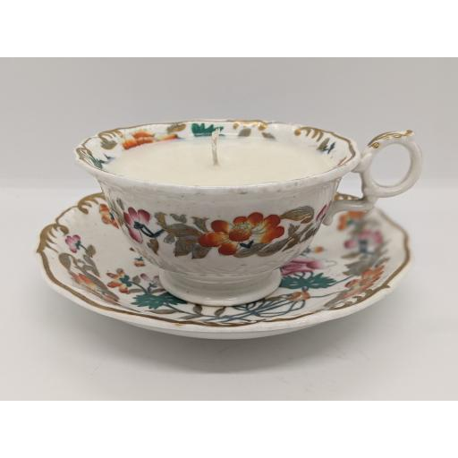 Regency Chinoiserie tea cup and saucer c 1835