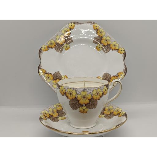 Art Deco 'Caversham' tea trio c 1935