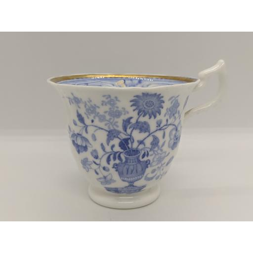 Regency bat printed coffee cup c 1820