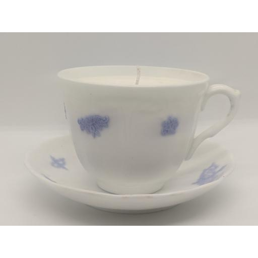 Victorian Adderley and Co breakfast cup and saucer c 1891