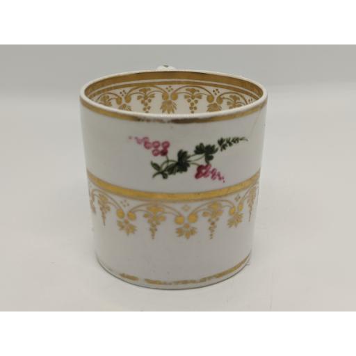 Regency Derby coffee can c 1825