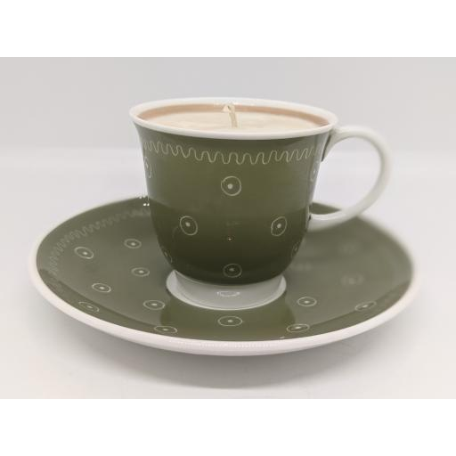 Susie Cooper coffee cup and saucer c 1955