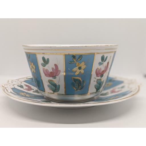 Victorian Staffordshire slop bowl c 1860