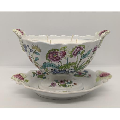 Delftware sauce tureen c 1820