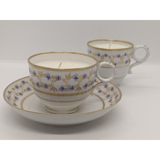 Worcester tea and coffee trio c 1797