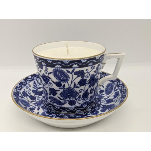 Derby coffee cup and saucer 1883