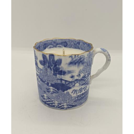 Spode blue and white coffee can c 1785