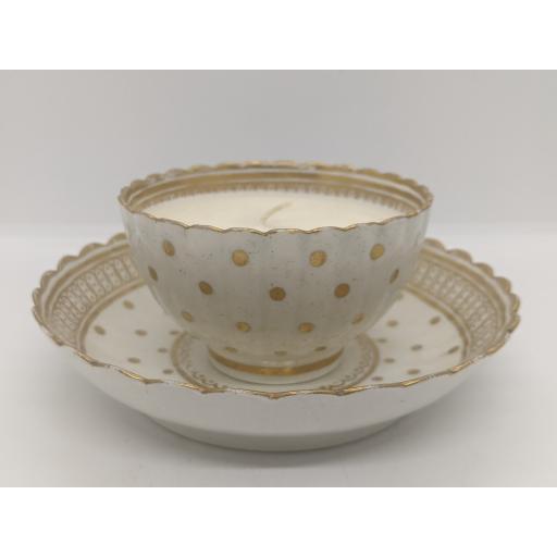 Caughley tea bowl and saucer c 1790