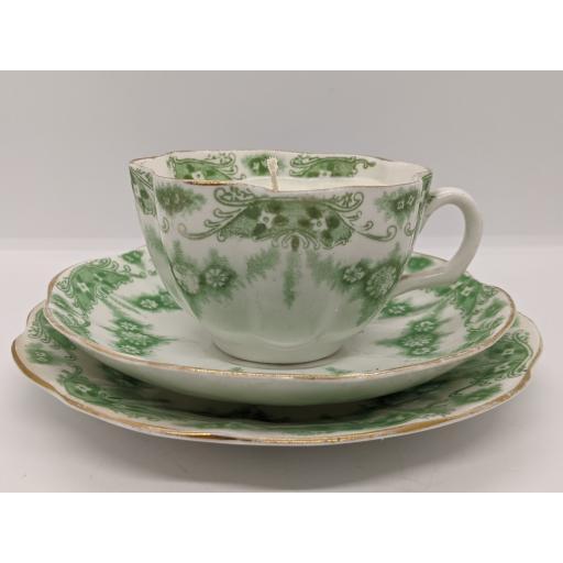 Late Victorian tea trio c 1900