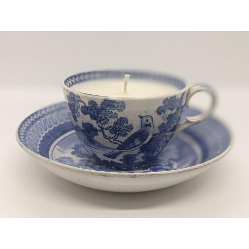 Enoch Wood tea cup and saucer c 1820