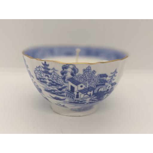 Spode blue and white tea bowl c 1785