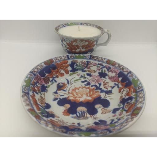 Masons teacup and saucer c 1820